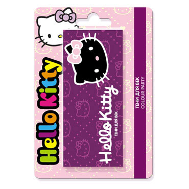 HELLO KITTY Тени COLOUR PARTY 8г 1/20