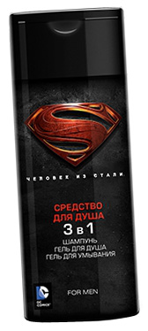 Man of Steel средство для душа 3в1 240 мл 1/12