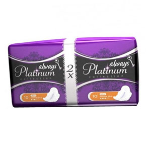 Олвейз Ultra Platinum Collection  Normal Plus Duo 20шт 1/16